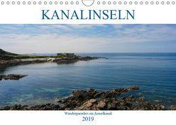 Kanalinseln – Wanderparadies im Ärmelkanal (Wandkalender 2019 DIN A4 quer) von Dippel,  Gabriele