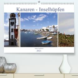 Kanaren – Inselhüpfen (Premium, hochwertiger DIN A2 Wandkalender 2021, Kunstdruck in Hochglanz) von Gerhard,  Anita