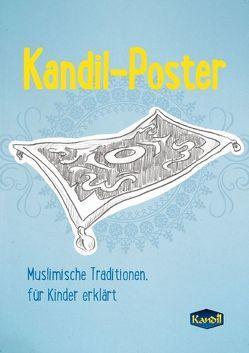 Kandil-Poster (Posterbuch DIN A3 hoch) von Balcik,  Ines