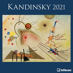 Kandinsky 2021 – Wand-Kalender – Broschüren-Kalender – 30×30 – 30×60 geöffnet – Kunst-Kalender von Kandinsky,  Wassily