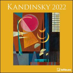 Kandinsky 2022 – Wand-Kalender – Broschüren-Kalender – 30×30 – 30×60 geöffnet – Kunst-Kalender von Kandinsky,  Wassily
