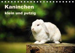 Kaninchen klein und putzig (Tischkalender 2018 DIN A5 quer) von Janetzek,  Yvonne
