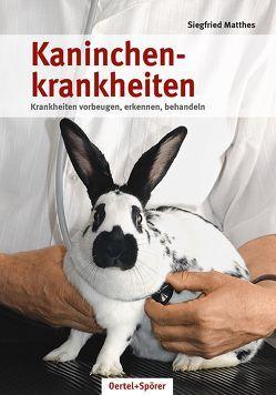 Kaninchenkrankheiten von Matthes,  Siegfried