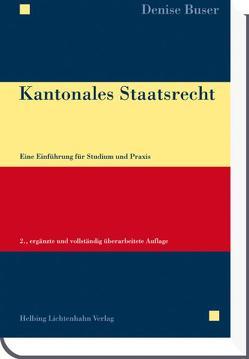 Kantonales Staatsrecht von Buser,  Denise
