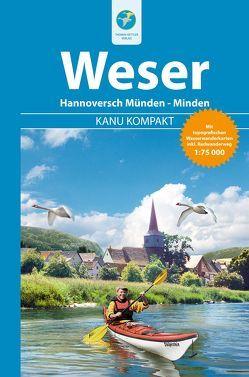 Kanu Kompakt Weser von Jübermann,  Erhard, Schorr,  Stefan