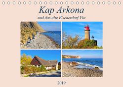 Kap Arkona und das alte Fischerdorf Vitt (Tischkalender 2019 DIN A5 quer) von LianeM