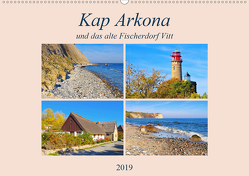 Kap Arkona und das alte Fischerdorf Vitt (Wandkalender 2019 DIN A2 quer) von LianeM