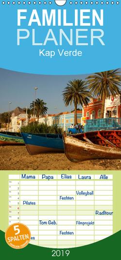 Kap Verde – Familienplaner hoch (Wandkalender 2019 , 21 cm x 45 cm, hoch) von Schickert,  Peter