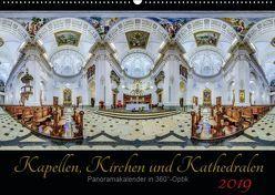 Kapellen, Kirchen und Kathedralen 2019 (Wandkalender 2019 DIN A2 quer) von Christen,  Ernst