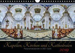 Kapellen, Kirchen und Kathedralen 2019 (Wandkalender 2019 DIN A4 quer) von Christen,  Ernst