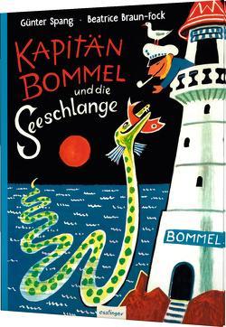 Kapitän Bommel und die Seeschlange von Braun-Fock,  Beatrice, Spang,  Günter
