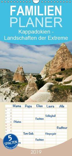 Kappadokien – Landschaften der Extreme – Familienplaner hoch (Wandkalender 2019 , 21 cm x 45 cm, hoch) von boeTtchEr,  U
