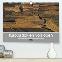 Kappadokien von oben (Premium, hochwertiger DIN A2 Wandkalender 2021, Kunstdruck in Hochglanz) von Schürholz,  Peter