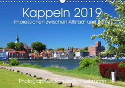 Kappeln 2019. Impressionen zwischen Altstadt und Schlei (Wandkalender 2019 DIN A3 quer) von Lehmann,  Steffani