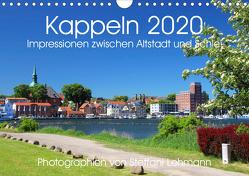 Kappeln 2020. Impressionen zwischen Altstadt und Schlei (Wandkalender 2020 DIN A4 quer) von Lehmann,  Steffani