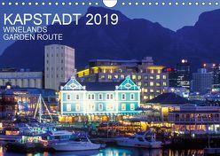 Kapstadt, Winelands und Garden Route (Wandkalender 2019 DIN A4 quer) von Dieterich,  Werner