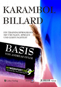 Karambol Billard Basis von Efler,  Andreas