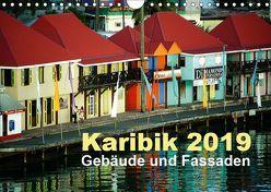Karibik 2019 – Gebäude und Fassaden (Wandkalender 2019 DIN A4 quer) von Frank,  Rolf