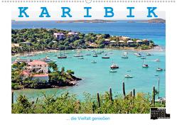 KARIBIK – die Vielfalt genießen (Wandkalender 2020 DIN A2 quer) von J. Richtsteig,  Walter