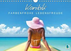 Karibik: Farbenfrohe Lebensfreude (Wandkalender 2018 DIN A4 quer) von CALVENDO,  k.A.