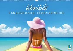 Karibik: Farbenfrohe Lebensfreude (Premium, hochwertiger DIN A2 Wandkalender 2020, Kunstdruck in Hochglanz) von CALVENDO