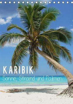 Karibik – Sonne, Strand und Palmen (Tischkalender 2019 DIN A5 hoch) von M.Polok
