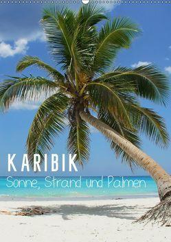 Karibik – Sonne, Strand und Palmen (Wandkalender 2019 DIN A2 hoch) von M.Polok