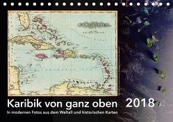 Karibik von ganz oben (Tischkalender 2018 DIN A5 quer) von Tunabooks/olf,  k.A.