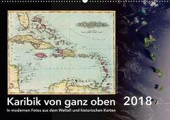 Karibik von ganz oben (Wandkalender 2018 DIN A2 quer) von Tunabooks/olf,  k.A.