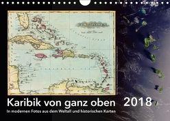Karibik von ganz oben (Wandkalender 2018 DIN A4 quer) von Tunabooks/olf,  k.A.