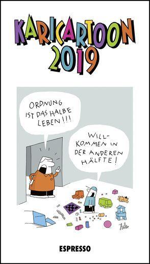 KARICARTOON 2019 von Heiler,  Pascal, Holtfreter,  Jürgen