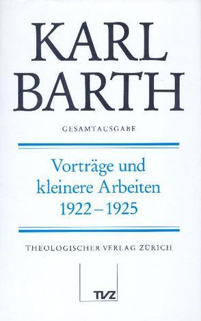 Karl Barth Gesamtausgabe von Barth,  Karl, Drewes,  Anton, Finze-Michaelsen,  Holger, Stoevesandt,  Hinrich