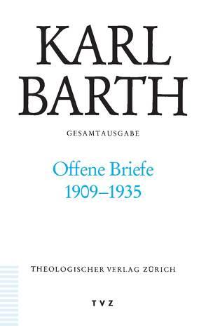 Karl Barth Gesamtausgabe von Barth,  Karl, Koch,  Diether