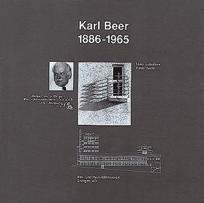 Karl Beer 1886-1968 von Gutschow,  Niels, Herrle,  Peter