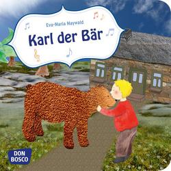 Karl, der Bär. Mini-Bilderbuch. von Maywald,  Eva-Maria