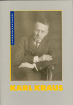 Karl Kraus von Dambacher,  Eva, Kahmen,  Volker, Pfäfflin,  Friedrich