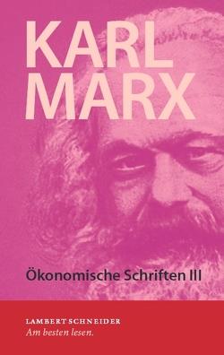 Karl Marx von Elsner,  Wolfram, Marx,  Karl