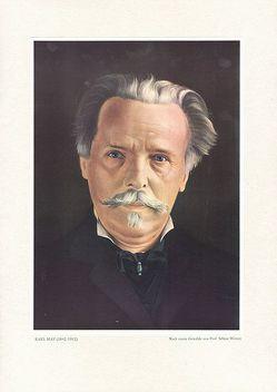Karl-May-Porträt von Karl-May-Verlag, Werner,  Selmar