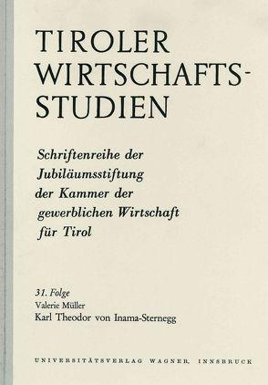 Karl Theodor von Inama Sternegg von Müller,  Valerie