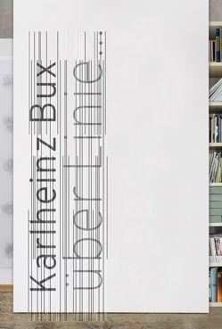 Karlheinz Bux – über Linie von Bux,  Karlheinz