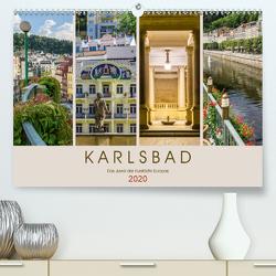 KARLSBAD Das Juwel der Kurstädte Europas (Premium, hochwertiger DIN A2 Wandkalender 2020, Kunstdruck in Hochglanz) von Viola,  Melanie