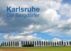 Karlsruhe – Die Bergdörfer (Wandkalender 2018 DIN A3 quer) von Eppele,  Klaus