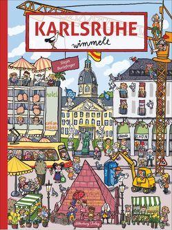 Karlsruhe wimmelt von Burlefinger,  Steph