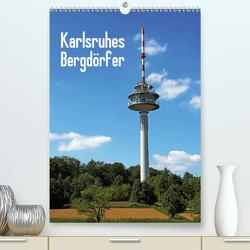 Karlsruhes Bergdörfer (Premium, hochwertiger DIN A2 Wandkalender 2021, Kunstdruck in Hochglanz) von Eppele,  Klaus