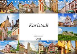 Karlstadt Impressionen (Tischkalender 2021 DIN A5 quer) von Meutzner,  Dirk
