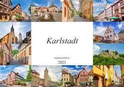 Karlstadt Impressionen (Wandkalender 2021 DIN A2 quer) von Meutzner,  Dirk