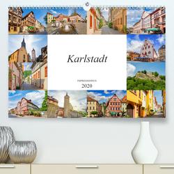 Karlstadt Impressionen (Premium, hochwertiger DIN A2 Wandkalender 2020, Kunstdruck in Hochglanz) von Meutzner,  Dirk