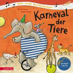 Karneval der Tiere von Antoni,  Birgit, Simsa,  Marko