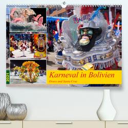 Karneval in Bolivien. Oruro – Santa Cruz (Premium, hochwertiger DIN A2 Wandkalender 2021, Kunstdruck in Hochglanz) von Indermuehle,  Tobias