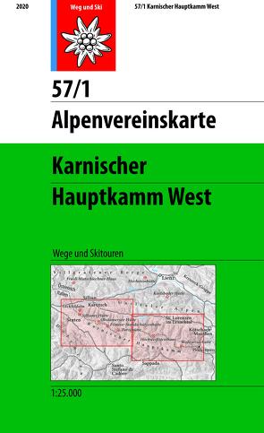 Karnischer Hauptkamm West von Oesterreichischer Alpenverein